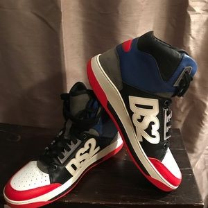 Dsquared high top sneakers